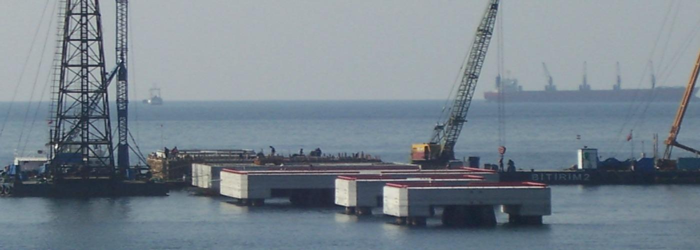 Platform inşaat çalışmaları